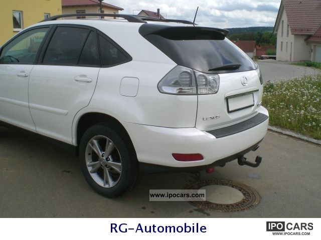 2005 Lexus Rx 400h Hybrid Leather Navi Xenon Ahk Off Road Vehicle