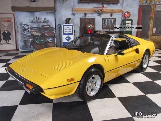 Ferrari  308 GTS 1979 Vintage, Classic and Old Cars photo