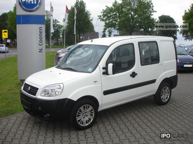 2007 Fiat  Doblo 1.3 JTD DPF Panorama | Climate | Engine Fault Van / Minibus Used vehicle photo