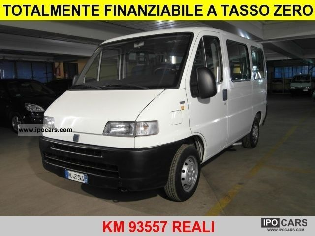 2000 Fiat  1.9 TD Ducato Panorama 9 posti Van / Minibus Used vehicle photo
