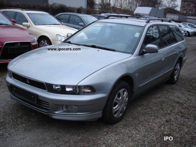 1997 Mitsubishi  GALANT 2.0 COMBINED AIR HEATER eSD TUV NEW Estate Car Used vehicle photo