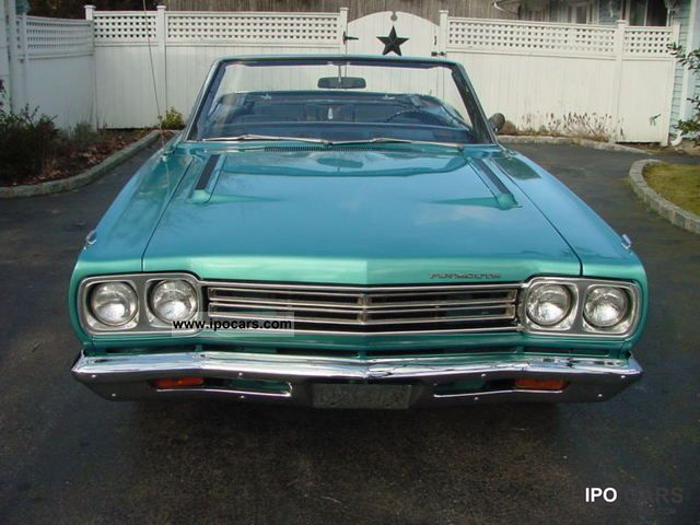 Plymouth  Road Runner Convertible 1969 Vintage, Classic and Old Cars photo