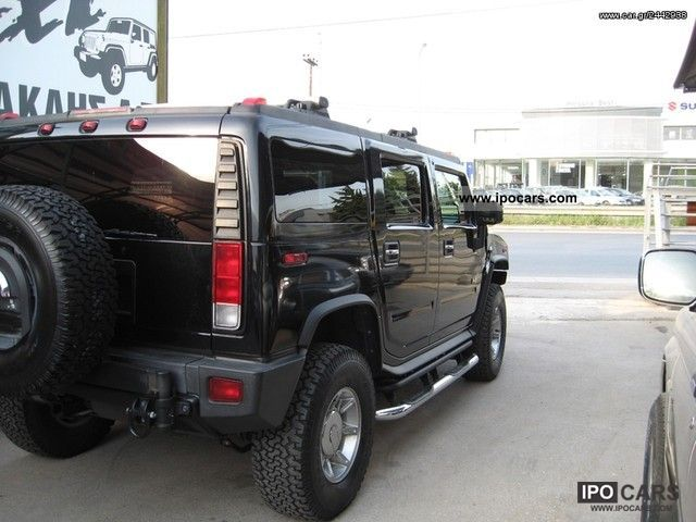 2007 hummer h2 luxury extra car photo and specs. Black Bedroom Furniture Sets. Home Design Ideas