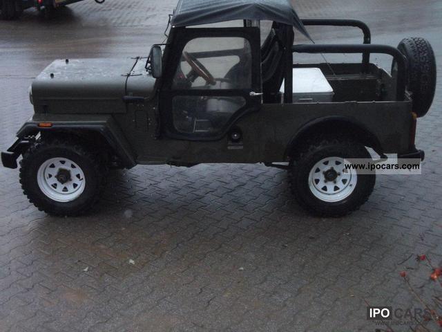 1995 Mahindra  CJ 540 Off-road Vehicle/Pickup Truck Used vehicle photo