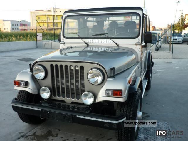 2011 Mahindra  Jeep CRD Off-road Vehicle/Pickup Truck New vehicle photo