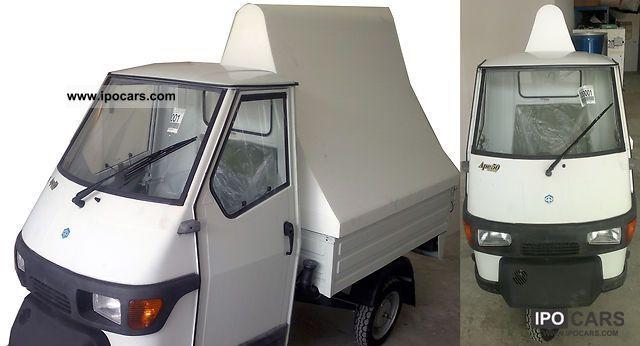 2012 Piaggio  APE Optimal advertising vehicle - brand new! Other Demonstration Vehicle photo