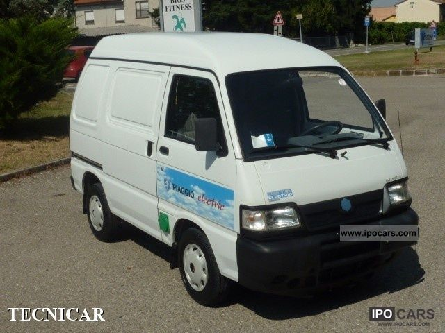 Piaggio  Porter Blind Van elettrico 2005 Electric Cars photo