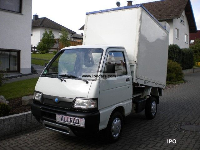2004 Piaggio  PORTER-WHEEL TRUCK CONVERSION WITH MORE CAPACITY Other Used vehicle photo
