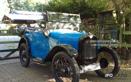Austin  SEVEN orig. 1928 AD 4-seater tourer, A7 Chummy 1928 Vintage, Classic and Old Cars photo