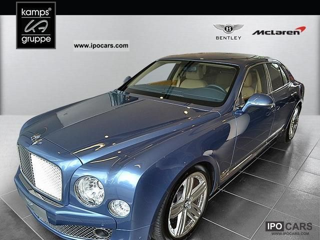 Bentley  BENTLEY Mulsanne MY11-HAMBURG 2012 Ethanol (Flex Fuel FFV, E85) Cars photo