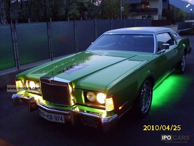 1974 Lincoln Continental Mark 4 Car Photo And Specs