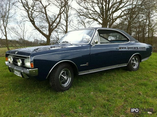 Opel  Commodore A Coupe GS 2.5 very nice original 1969 Vintage, Classic and Old Cars photo