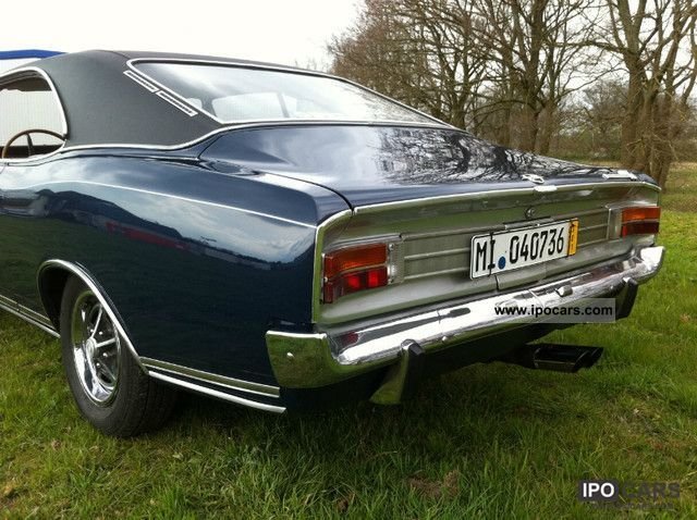 1969 Opel Commodore A Coupe GS 2.5 very nice original ...