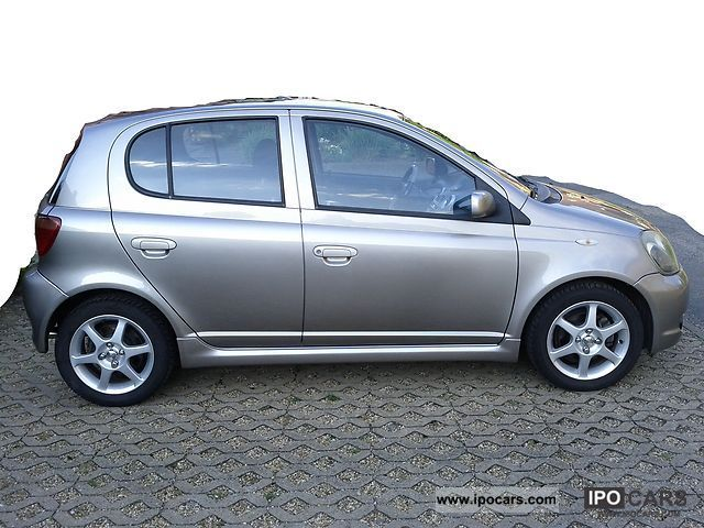 2002 Toyota Yaris 15 TS Car Photo And Specs