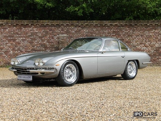 Lamborghini  400 GT 2 +2 1967 Vintage, Classic and Old Cars photo