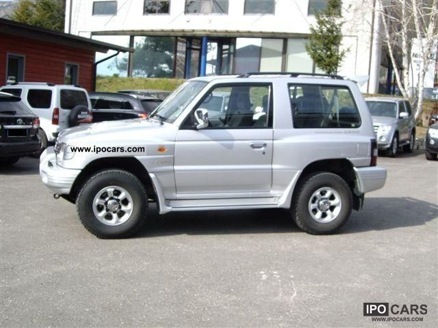 1999 mitsubishi pajero 2 8 tdi gls 3 porte 716 car photo and specs. Black Bedroom Furniture Sets. Home Design Ideas
