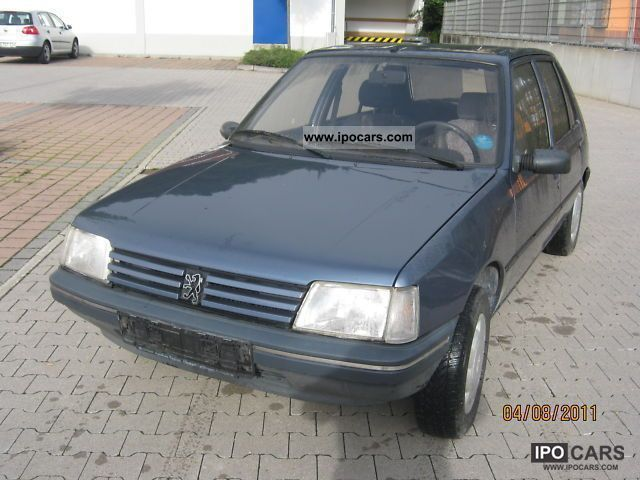 1990 Peugeot  205 GR Small Car Used vehicle photo
