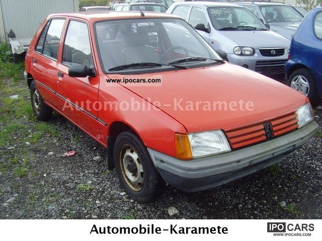 1987 Peugeot  205 GL \ Small Car Used vehicle photo