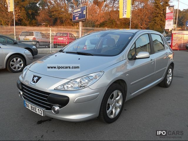 2006 peugeot 307 1 6 hdi 16v 110 executive pack car photo and specs. Black Bedroom Furniture Sets. Home Design Ideas