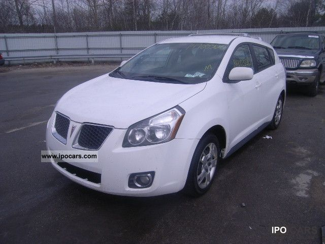 2009 pontiac vibe car photo and specs. Black Bedroom Furniture Sets. Home Design Ideas
