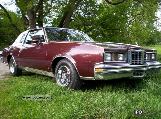 1979 Pontiac  GP 4.9 V8 ** H ** approved Sports car/Coupe Used vehicle photo