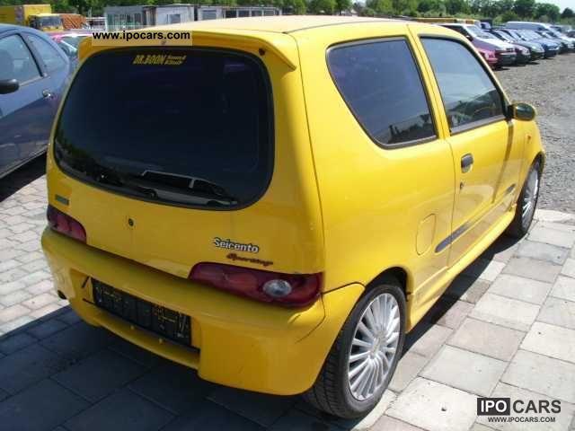 1997 Fiat Seicento 1 1 Sporting