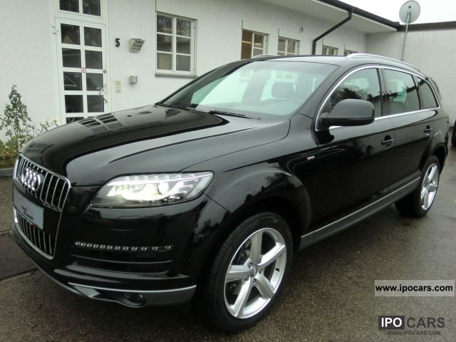 2012 audi q7 3 0 tdi quattro s line tiptr navi xenon. Black Bedroom Furniture Sets. Home Design Ideas