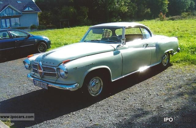 Borgward  Coupe 1958 Vintage, Classic and Old Cars photo