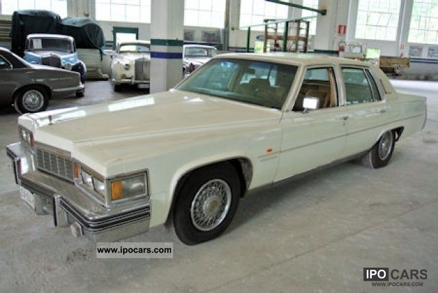 Cadillac  Fleetwood 7.0 c.c. V8 425 c.i. 1977 Vintage, Classic and Old Cars photo