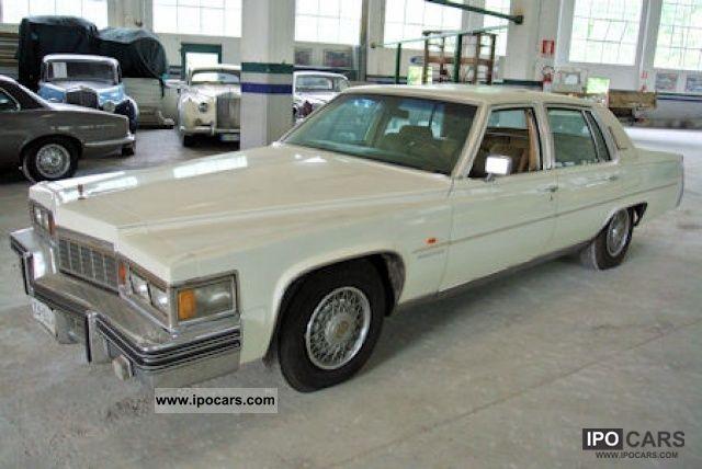 1977 Cadillac  Fleetwood 7.0 c.c. V8 425 c.i. Limousine Classic Vehicle photo