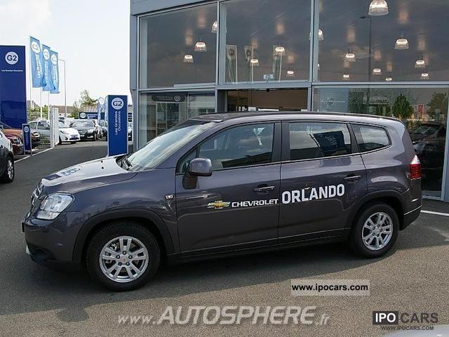 2012 Chevrolet  Orlando 1.8 16V LT + Limousine Used vehicle photo