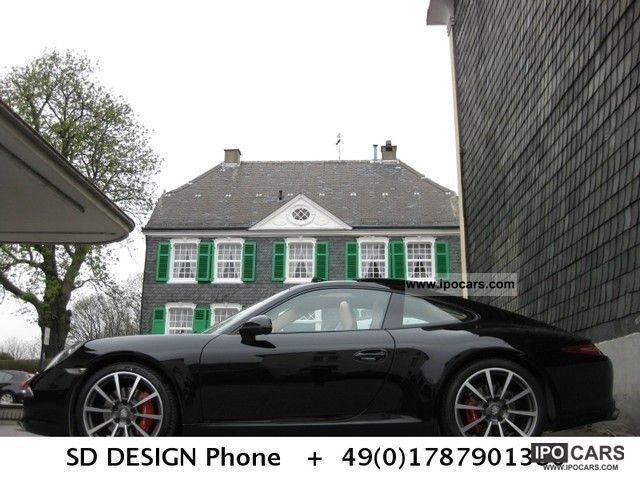 2012 Porsche  * 991S PDK sports exhaust * sports seats * Chrono * Beige Sports car/Coupe Used vehicle photo