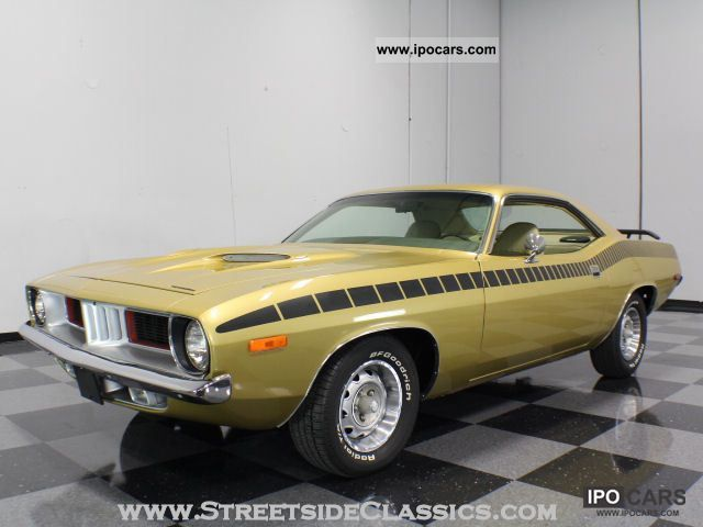 Plymouth  Barracuda (U.S. price) 1972 Vintage, Classic and Old Cars photo