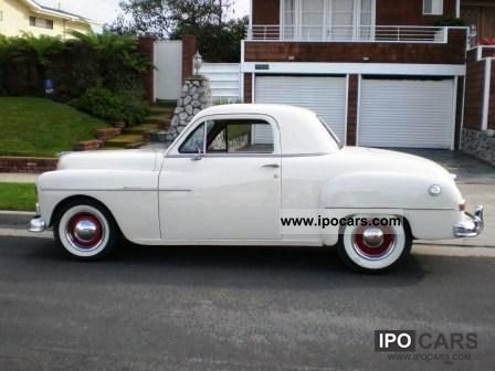 1950 plymouth other car photo and specs for 1950 plymouth 2 door coupe