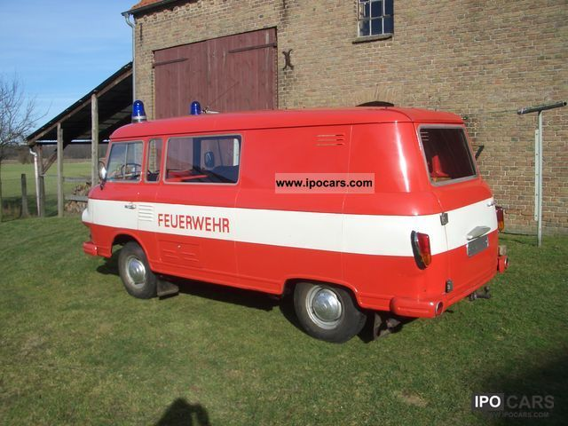 1974 Wartburg  Barkas Van / Minibus Used vehicle photo