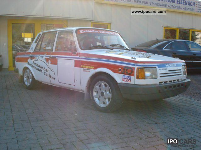Wartburg  Wartburg 1.3 / rally racing finished Gr.A + + single choke 1989 Race Cars photo