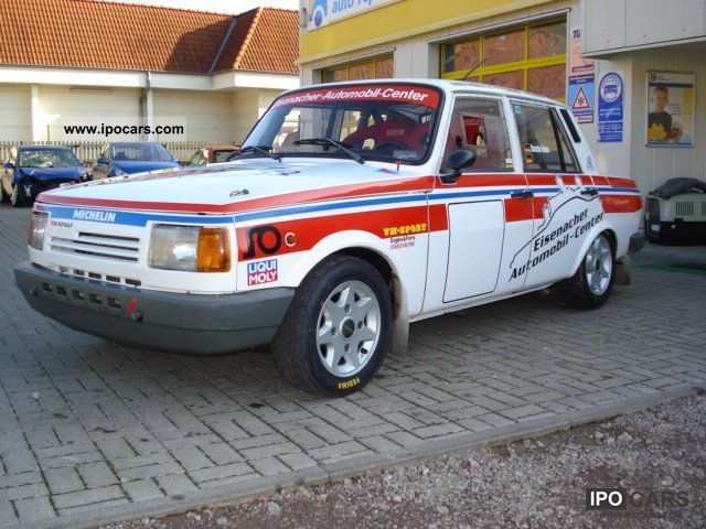 1989 Wartburg Wartburg 1 3 Rally Racing Finished Gr A