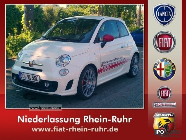 2012 Abarth  500 1.4 Turbo T-Jet 16V Limousine Used vehicle photo