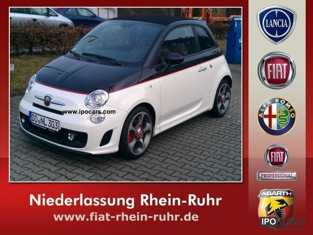 2012 Abarth  500 C 1.4 T-Jet 16V Cabrio / roadster Used vehicle photo