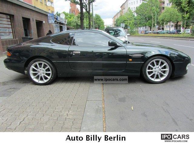 2001 Aston Martin Db7 V12 Vantage Coupe Top Condition Checkbook Car Photo And Specs