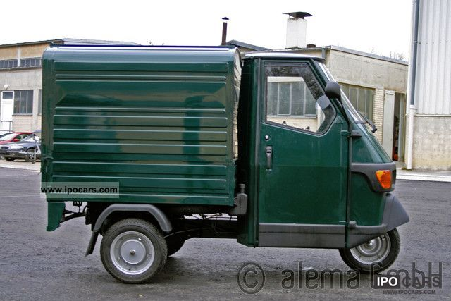 2012 piaggio ape 50 green box financing available car. Black Bedroom Furniture Sets. Home Design Ideas
