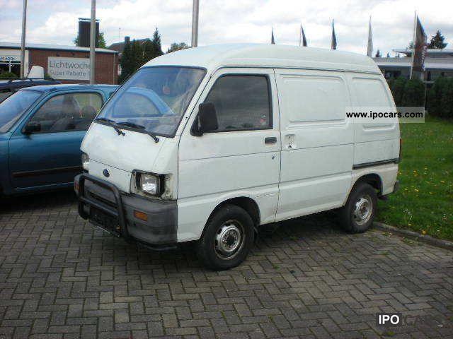 1994 Piaggio  Porter Truck (geschl.Kasten) Daihatsu 1000Tüv 12/12 Van / Minibus Used vehicle photo