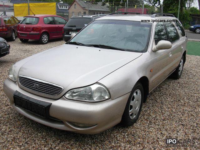 2001 Kia  Clarus Kombi GLX, AUTOMATIC, AIR, 7.SITZE, CD! Estate Car Used vehicle photo