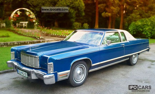 Lincoln  Town Coupe 1975 Vintage, Classic and Old Cars photo