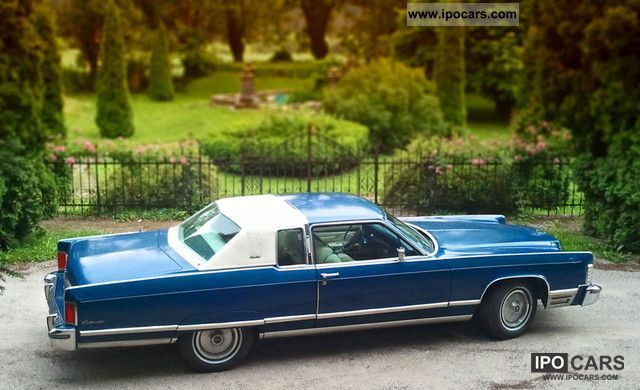 1975 Lincoln Town Coupe Limousine Clic Vehicle Photo