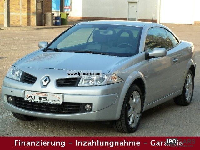 2007 Renault  Megane 1.6 Cabriolet LEATHER + PANORAMIC NaviPLUS + PDC + Cabrio / roadster Used vehicle photo