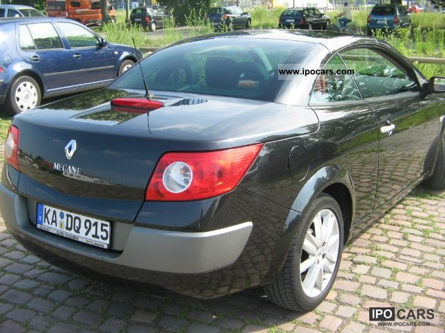 2005 renault megane coupe cabriolet 2 0 confort privilege car photo and specs. Black Bedroom Furniture Sets. Home Design Ideas
