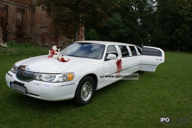 1998 Lincoln  Biala limuzyna na 9 osób Limousine Used vehicle photo