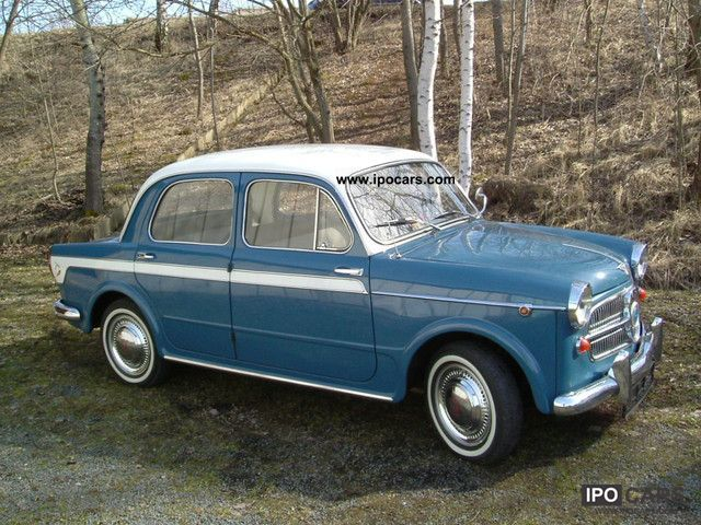 NSU  NSU-Fiat Neckar-103H, technical approval + H. Marking of. + Oldti.-Paß07 1960 Vintage, Classic and Old Cars photo