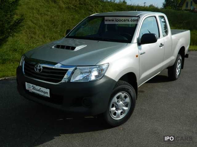 2012 Toyota  2.5l Hilux 4x4 X-tra Cab EURO5 Off-road Vehicle/Pickup Truck New vehicle photo